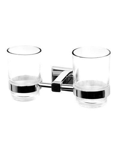 Uchwyt łazienkowy na szklanki Corsan CA02