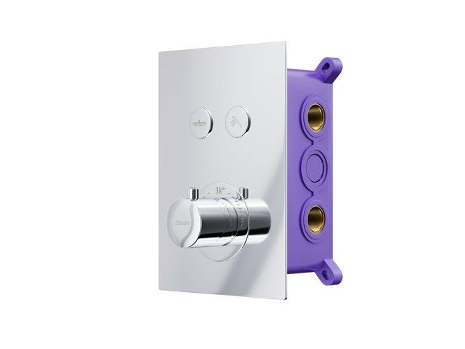 Concealed bathroom mixer Corsan BT02CH chrome