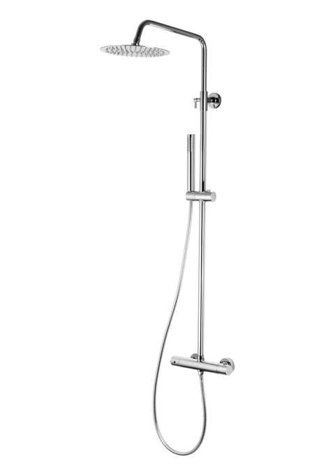 Shower column Corsan Lugo CMN026 chrome