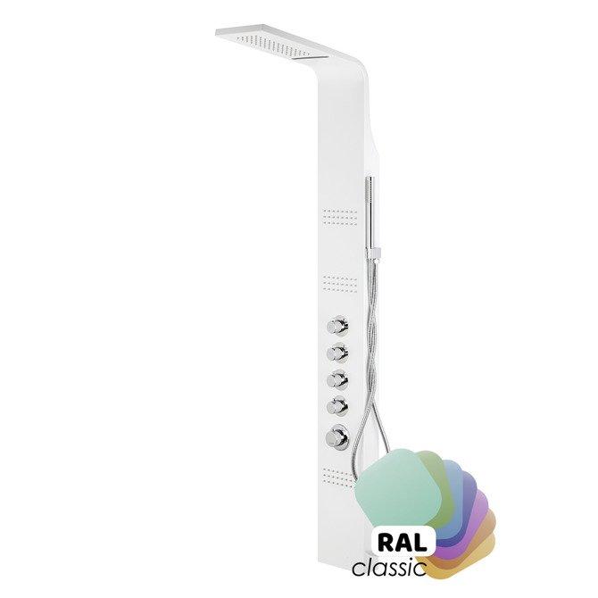 Shower panel Corsan Led Kaskada A013A individual RAL