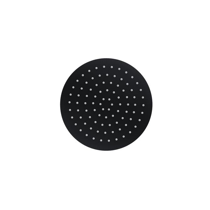 Natryskowa kolumna prysznicowa Corsan Lugo CMN017 czarna z wylewką i termostatem